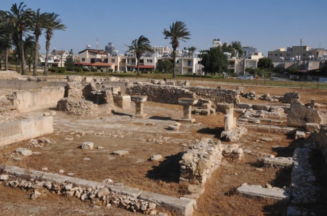 KITION ARCHEOLOGICAL SITE